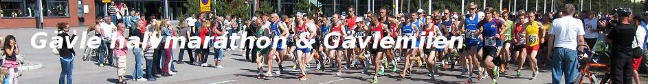 Gävle halvmarathon & Gävlemilen